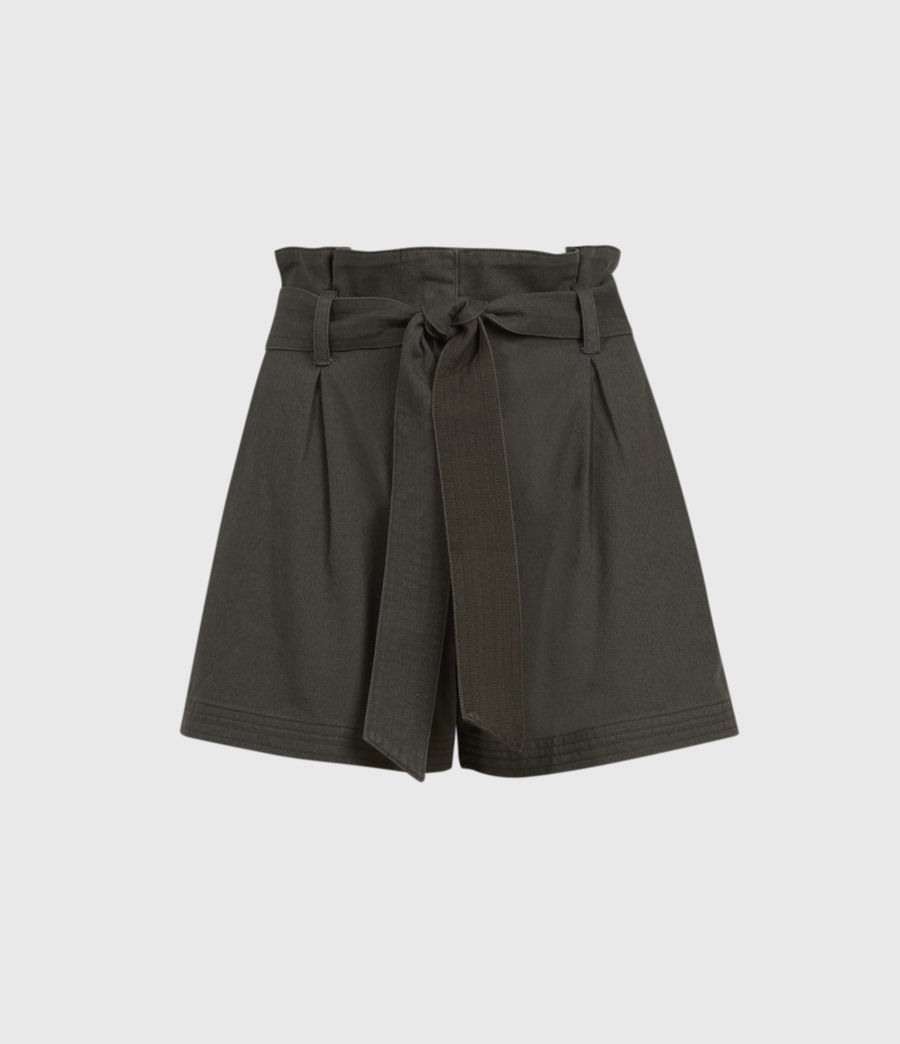 Women's Corrine Mid-Rise Shorts (utility_green) - Image 1