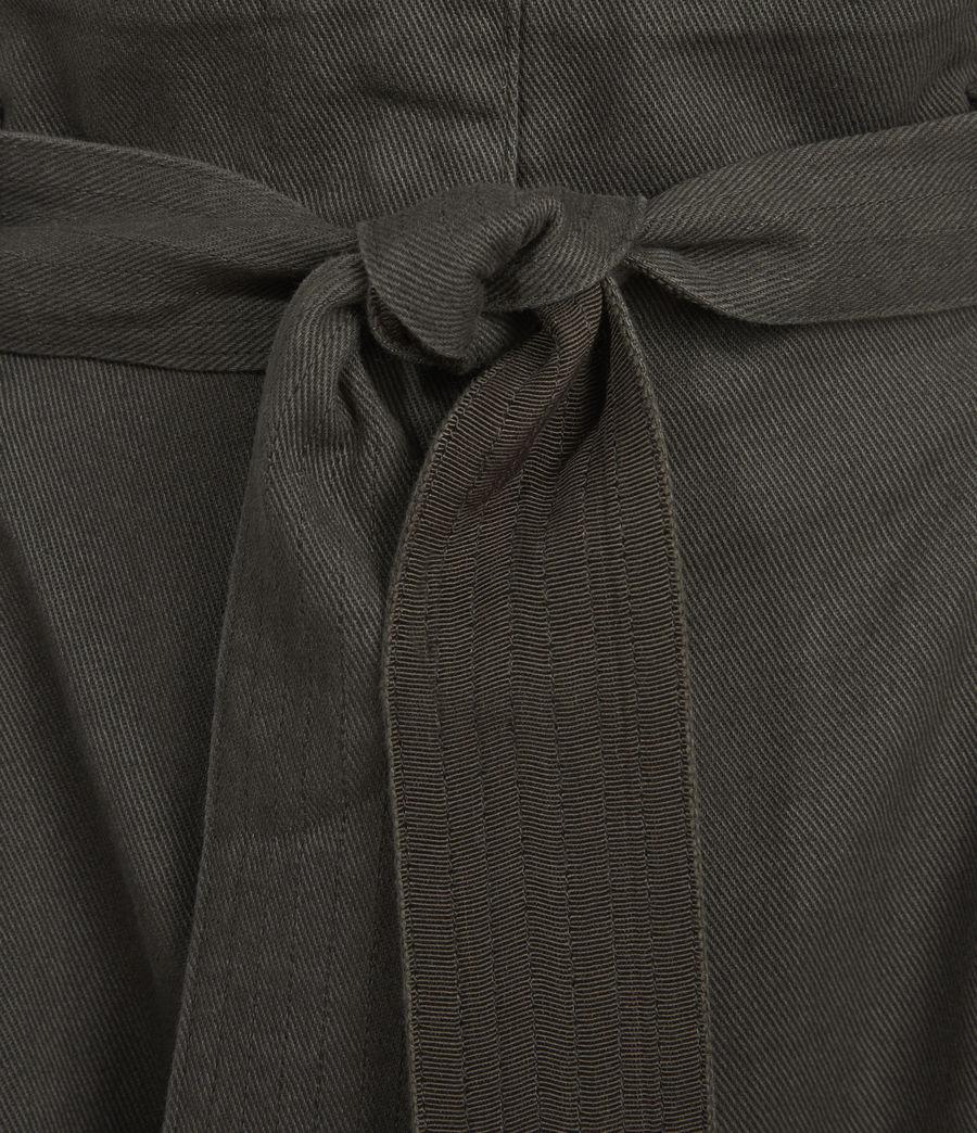Mujer Corrine Mid-Rise Shorts (utility_green) - Image 3