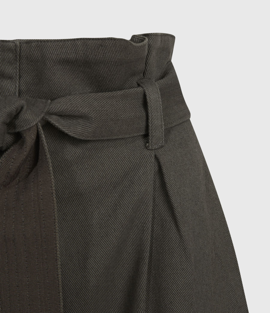 Women's Corrine Mid-Rise Shorts (utility_green) - Image 4