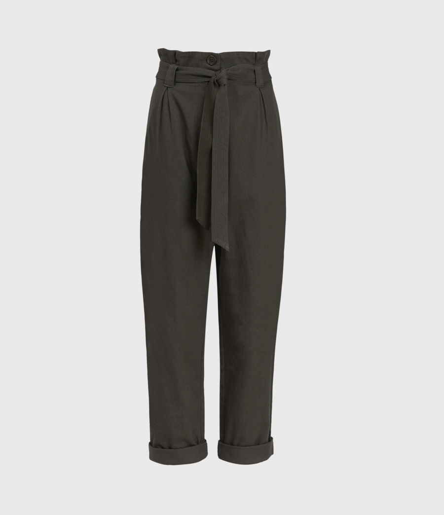 Mujer Corrine Mid-Rise Pants (utility_green) - Image 1