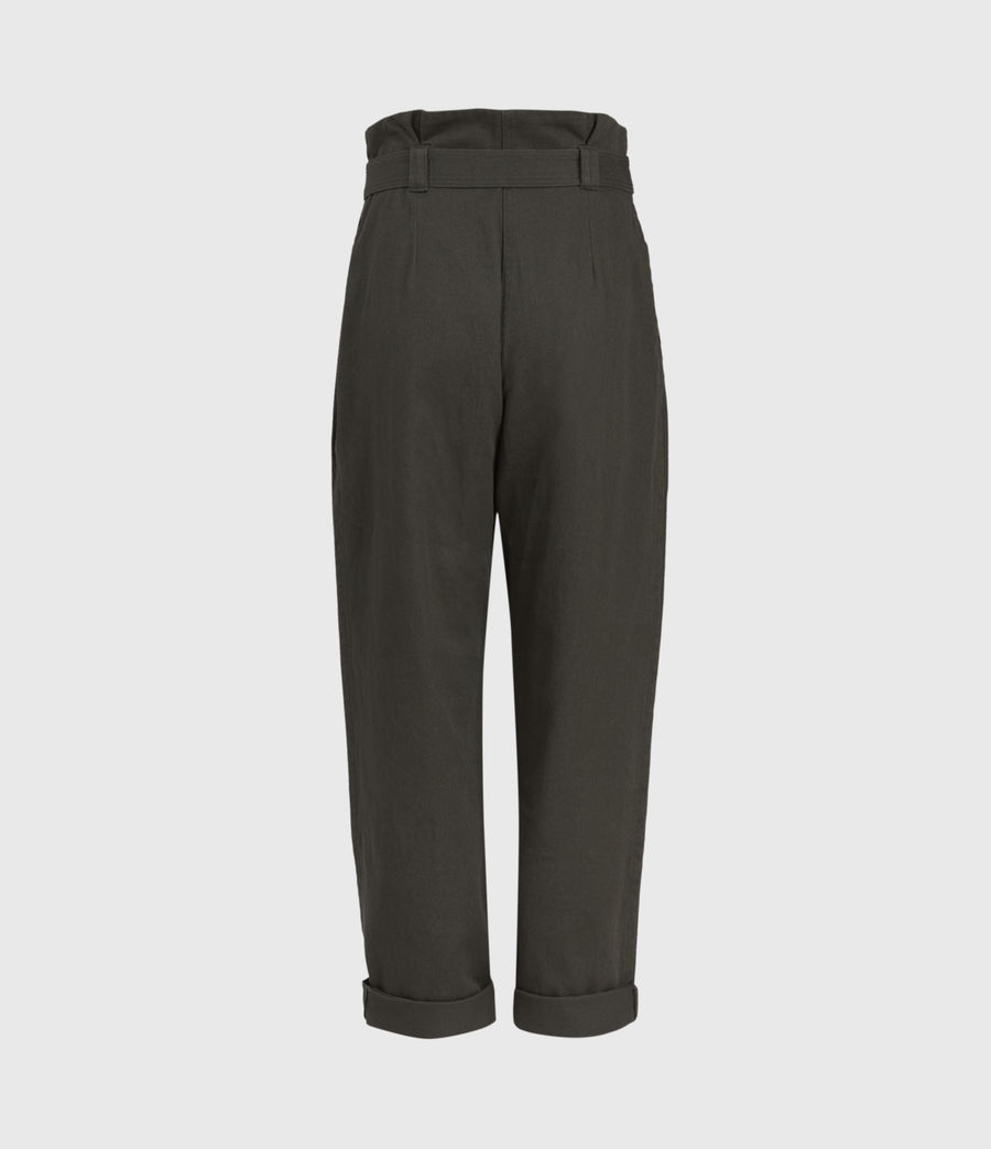 Mujer Corrine Mid-Rise Pants (utility_green) - Image 2