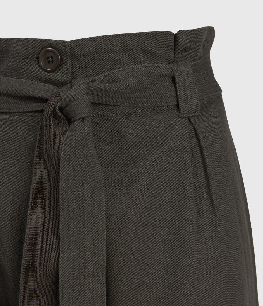 Mujer Corrine Mid-Rise Pants (utility_green) - Image 3