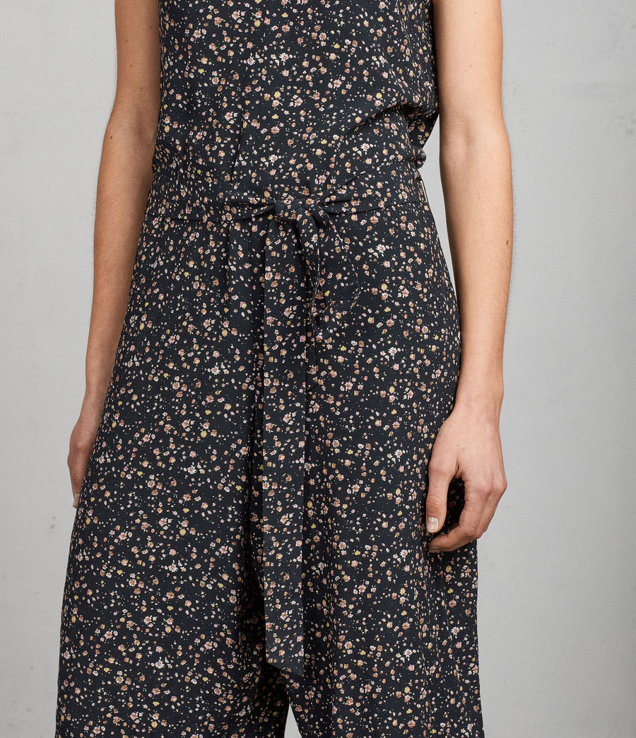 Womens Cate Pepper Jumpsuit (black) - Image 4