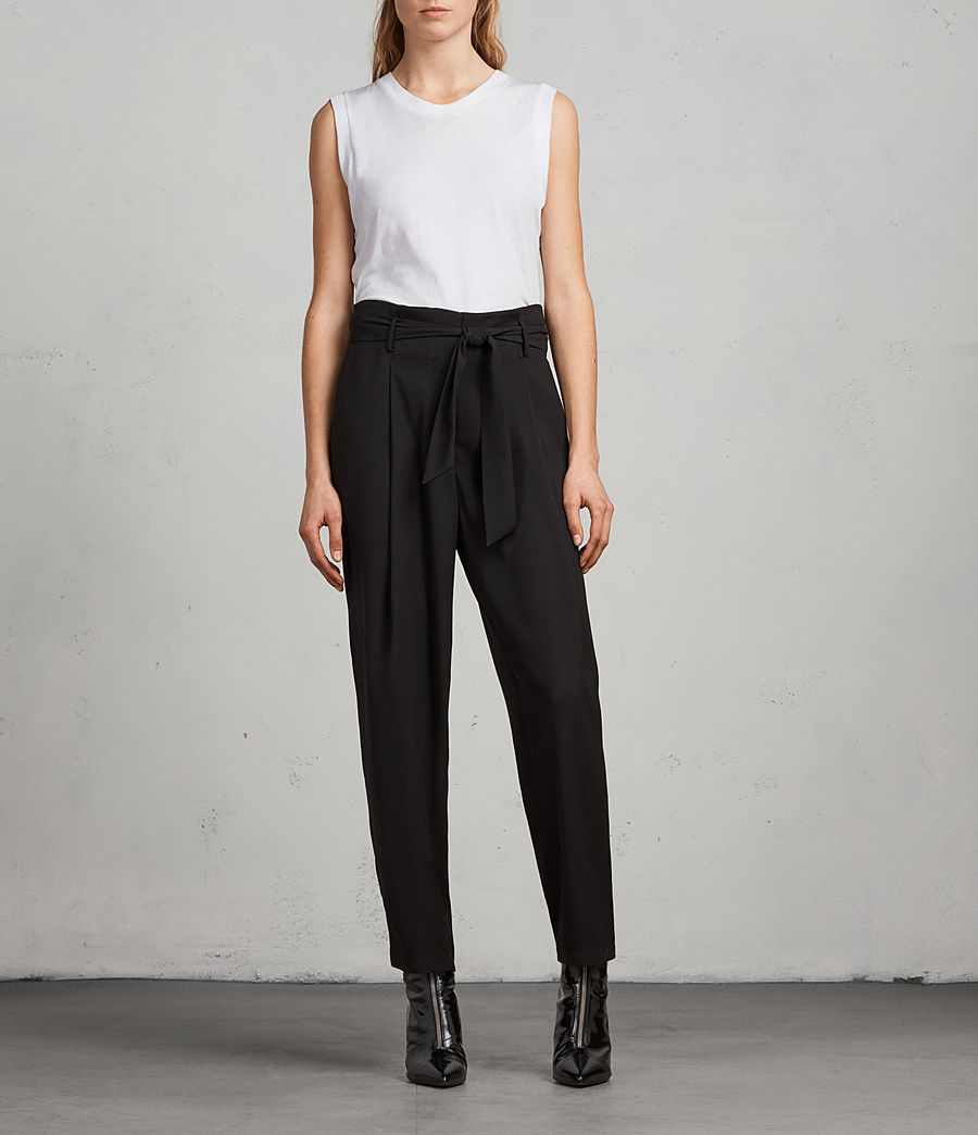 Women's Vita Trousers (black) - Image 1