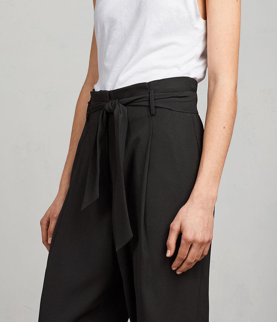 Women's Vita Trousers (black) - Image 2