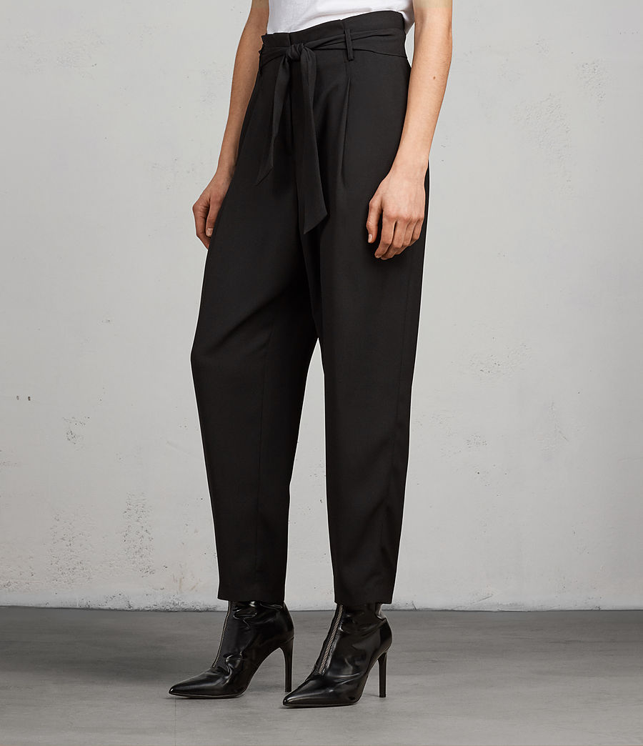 Women's Vita Trousers (black) - Image 3