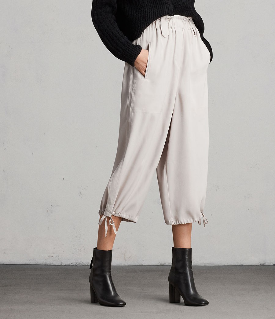 Womens Mercer Pants (oyster_white) - Image 1