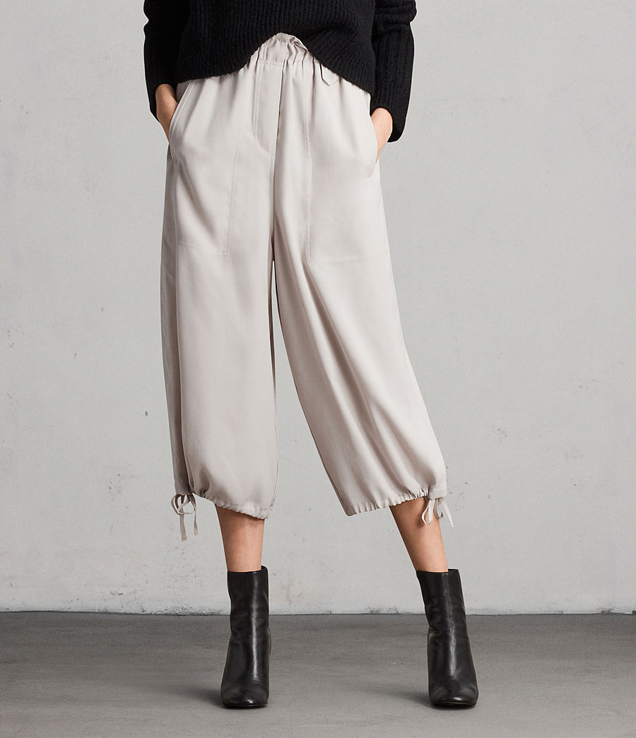 Womens Mercer Pants (oyster_white) - Image 3