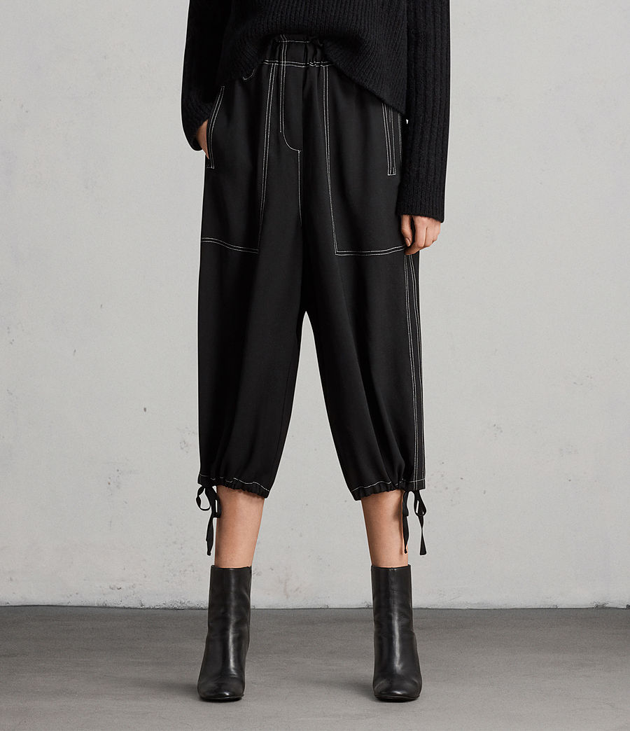 Damen Mercer Hose (black) - Image 1
