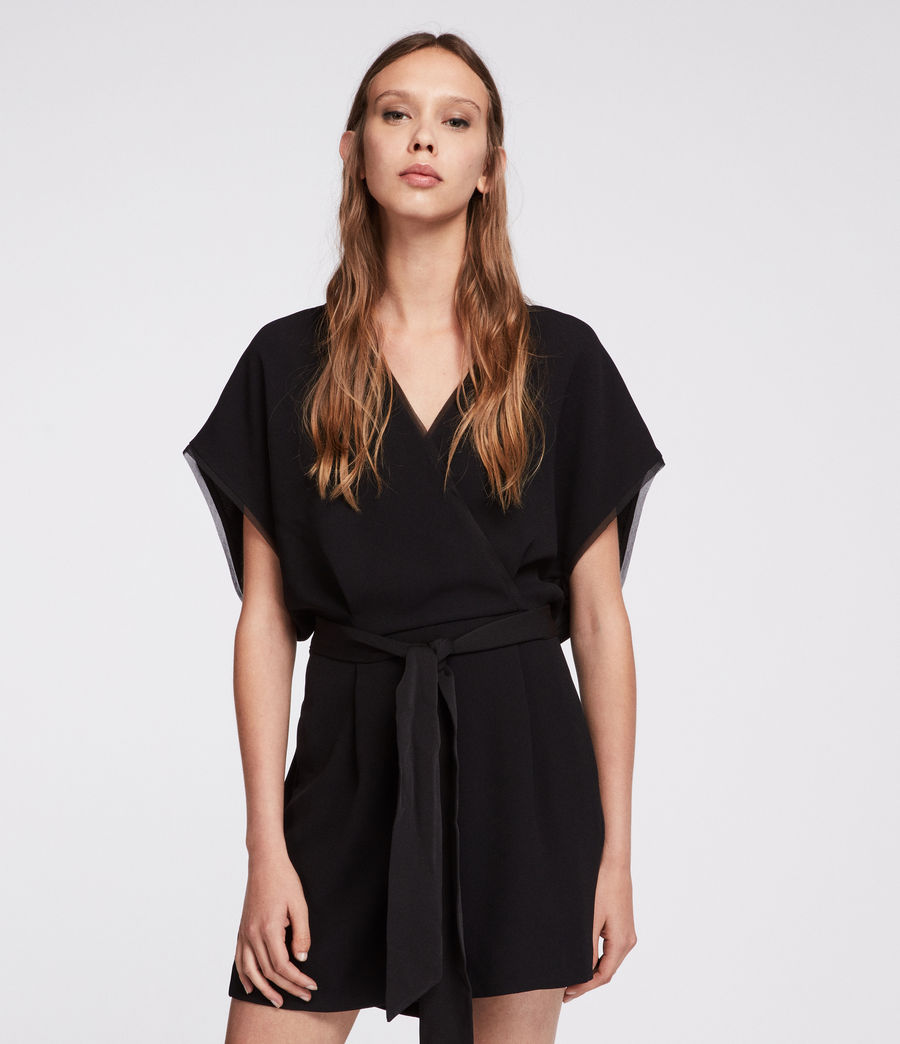 ef2154e67595 ALLSAINTS US  Womens Reid Playsuit (black)
