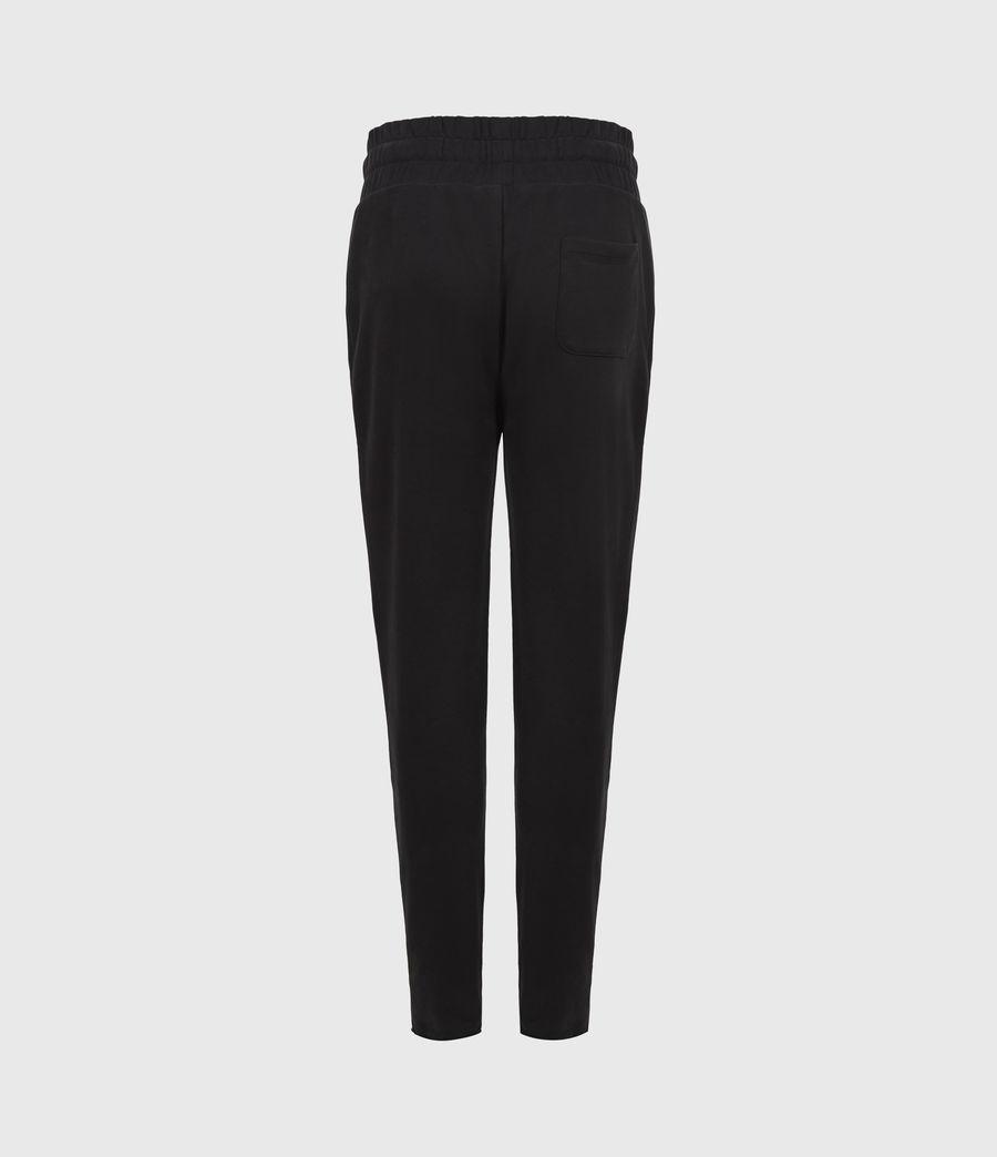 Womens Lila Cropped Sweatpants (black) - Image 3