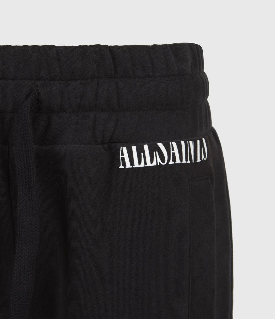 Womens Lila Cropped Sweatpants (black) - Image 5