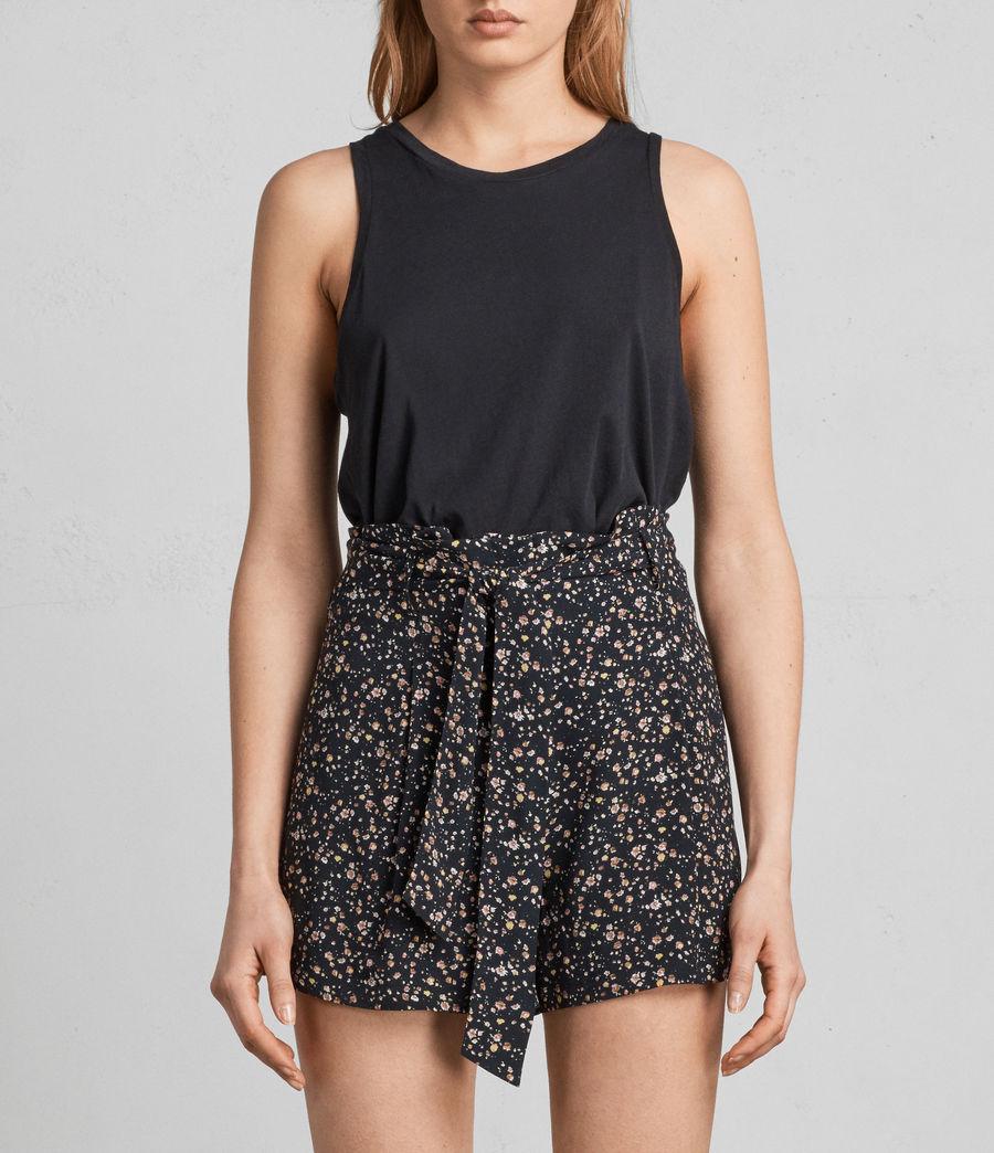 Womens Kelsey Pepper Shorts (black) - Image 3