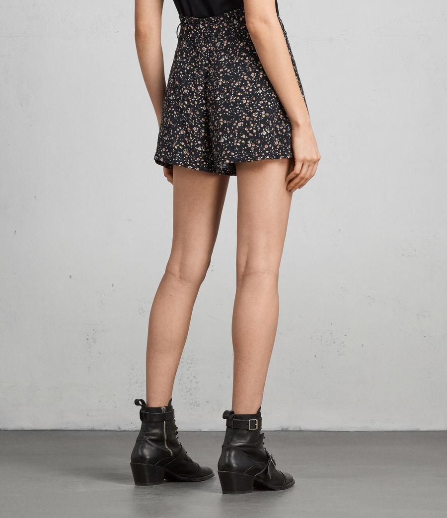 Womens Kelsey Pepper Shorts (black) - Image 4