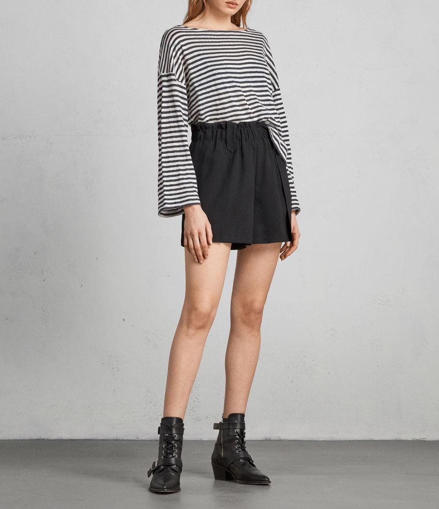 Womens Mercer Shorts (black) - Image 1