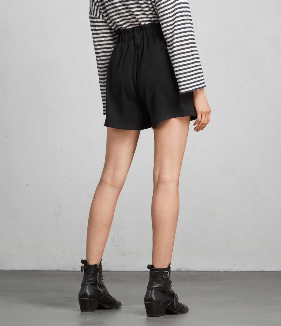 Womens Mercer Shorts (black) - Image 3