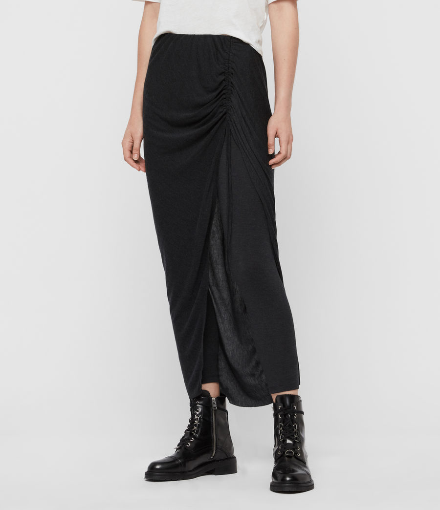 Women's Jacka Maxi Leggings (charcoal_grey) - Image 1