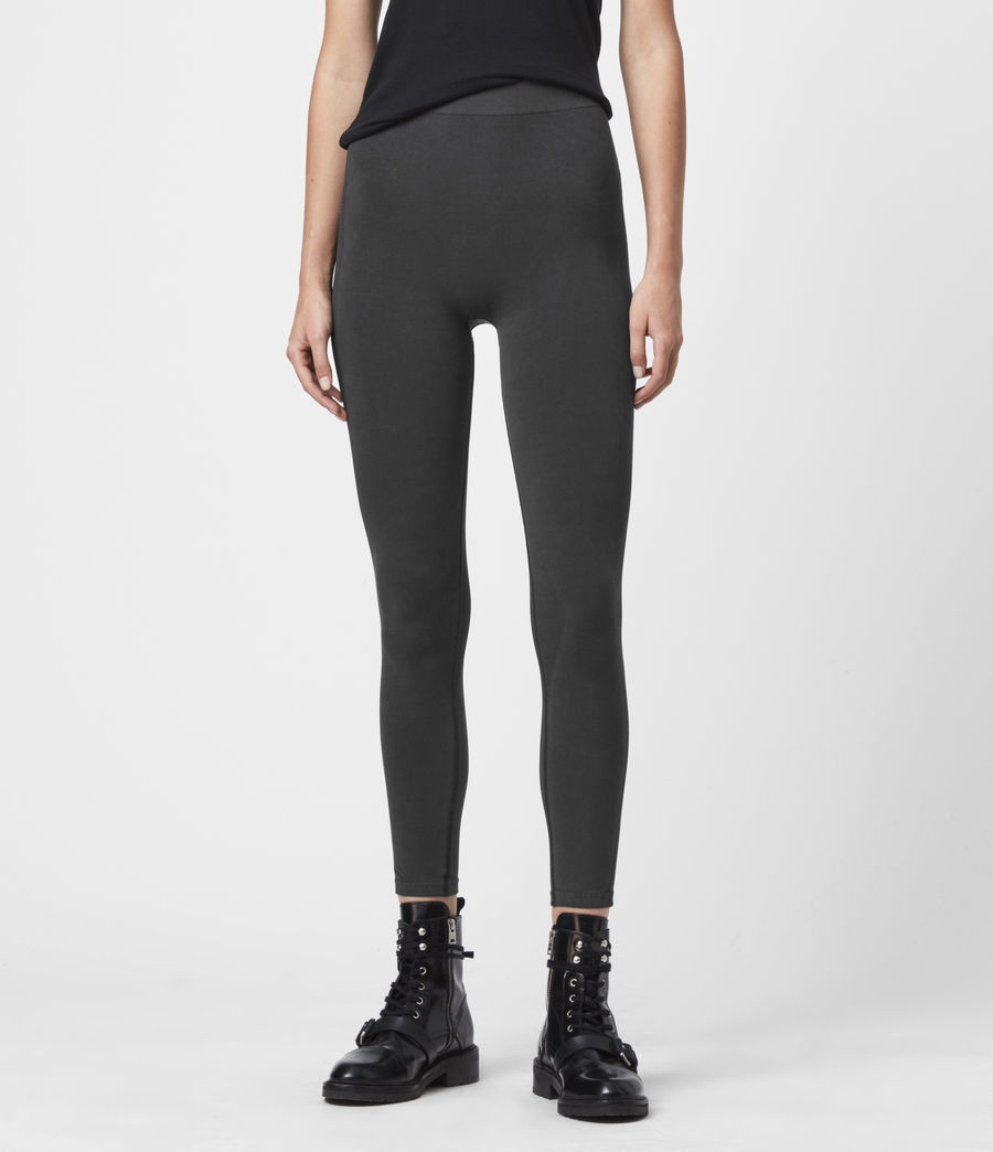 Womens Bri Leggings (charcoal) - Image 3