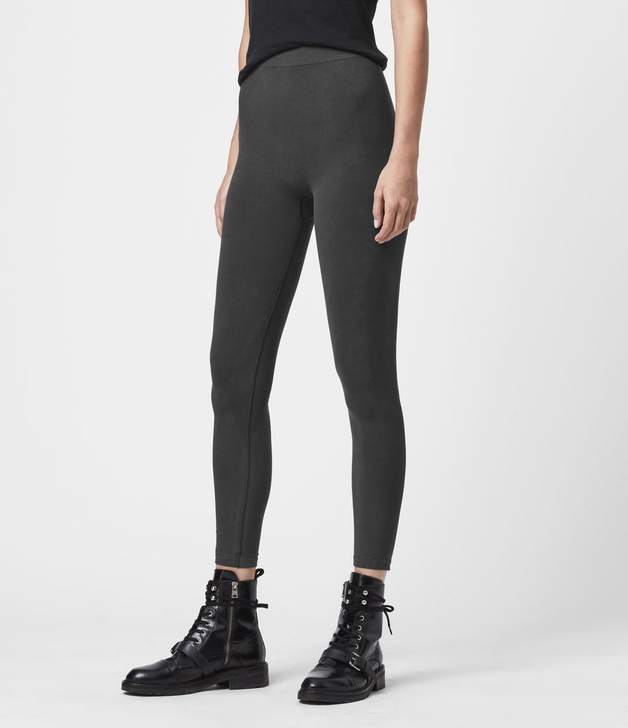 Womens Bri Leggings (charcoal) - Image 4