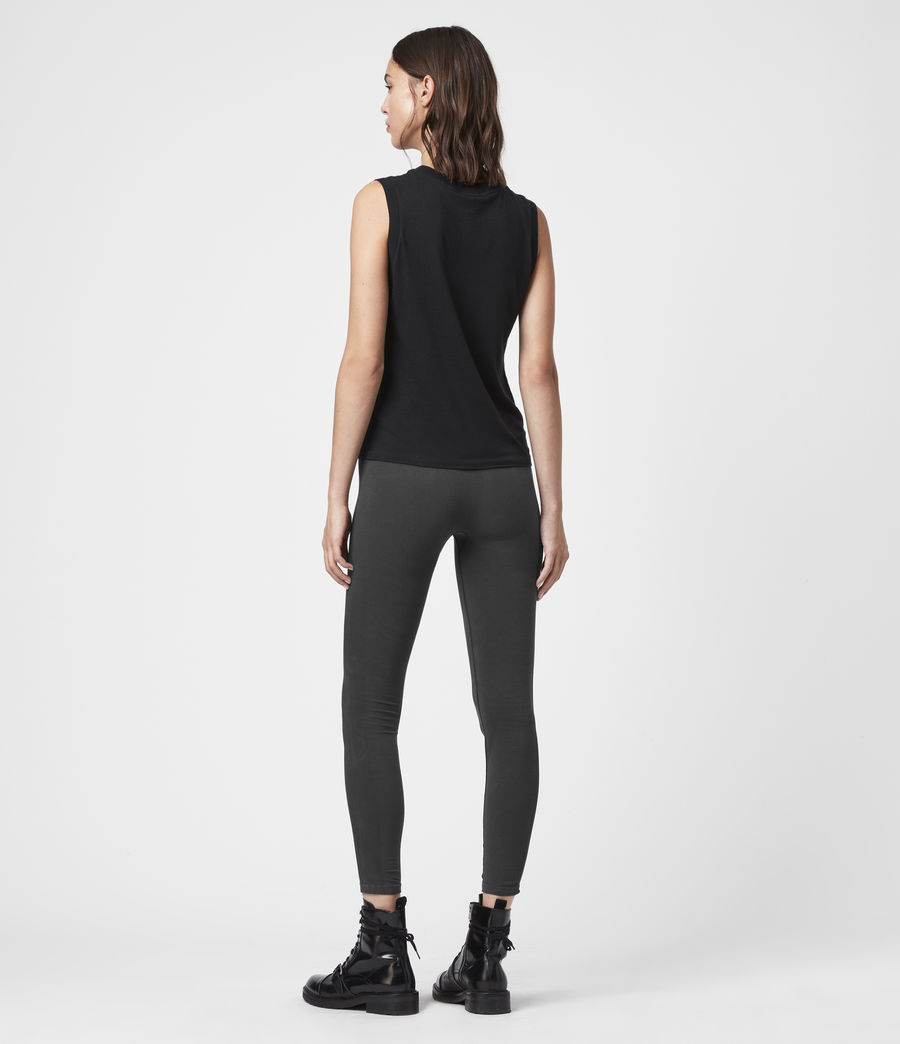 Womens Bri Leggings (charcoal) - Image 6