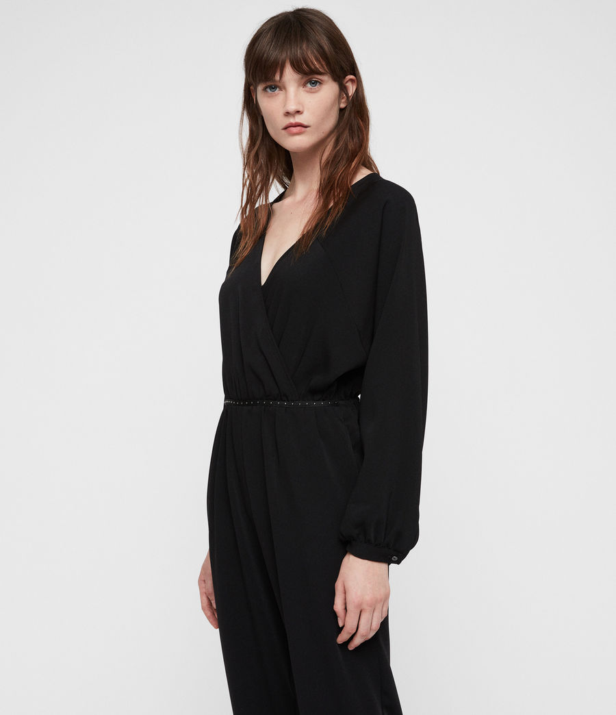 Womens Molli Jumpsuit (black) - Image 2