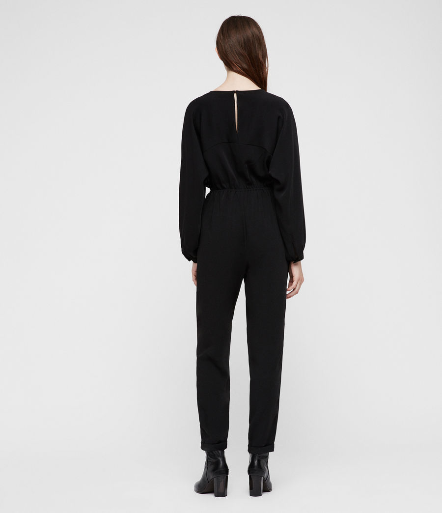 Women's Molli Jumpsuit (black) - Image 3