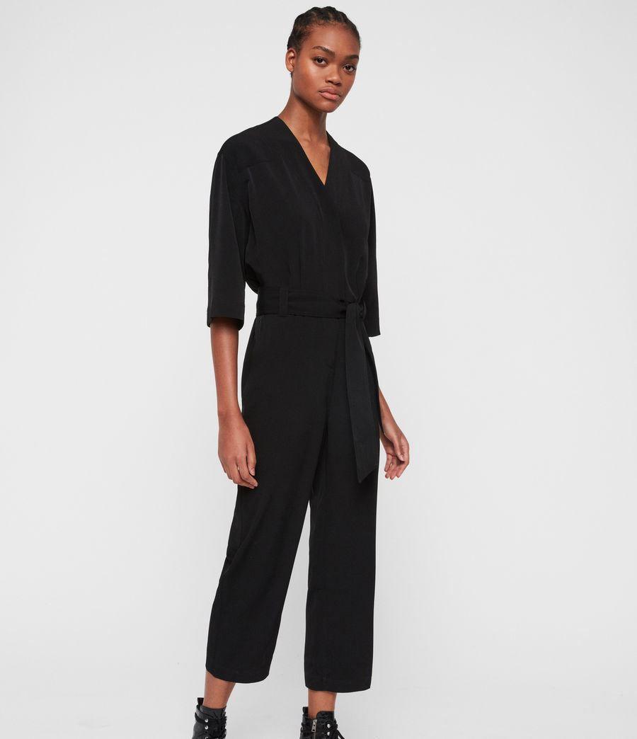 Women's Hayley Jumpsuit (black) - Image 1