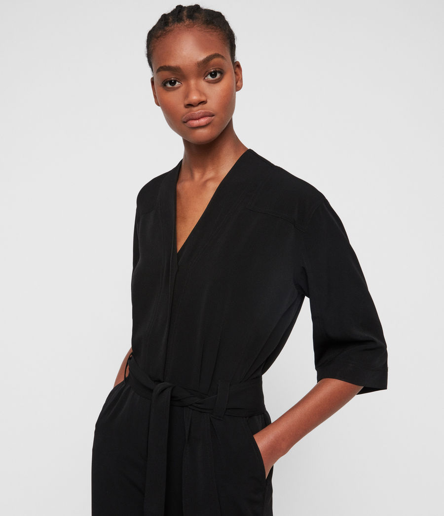 Women's Hayley Jumpsuit (black) - Image 2