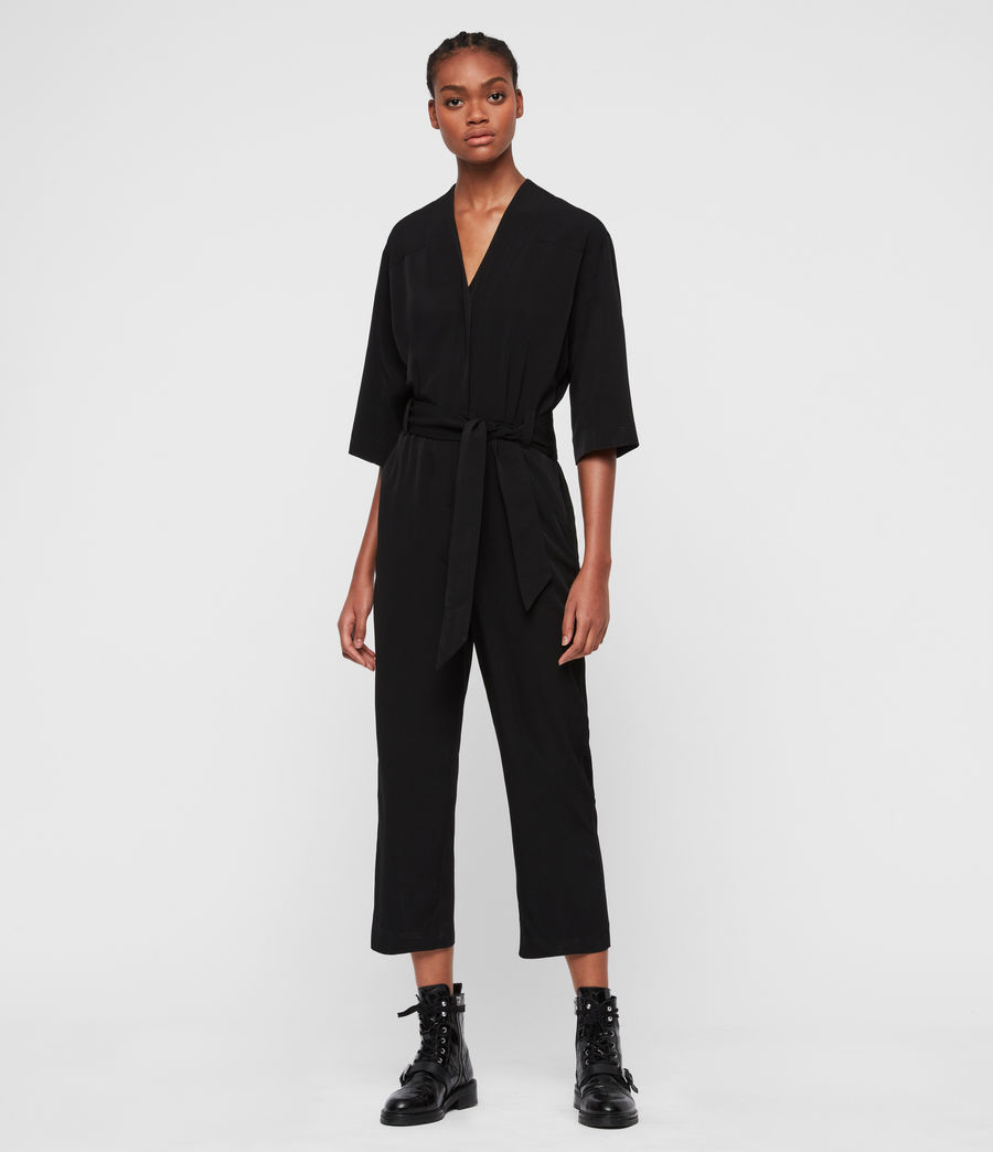 Women's Hayley Jumpsuit (black) - Image 3