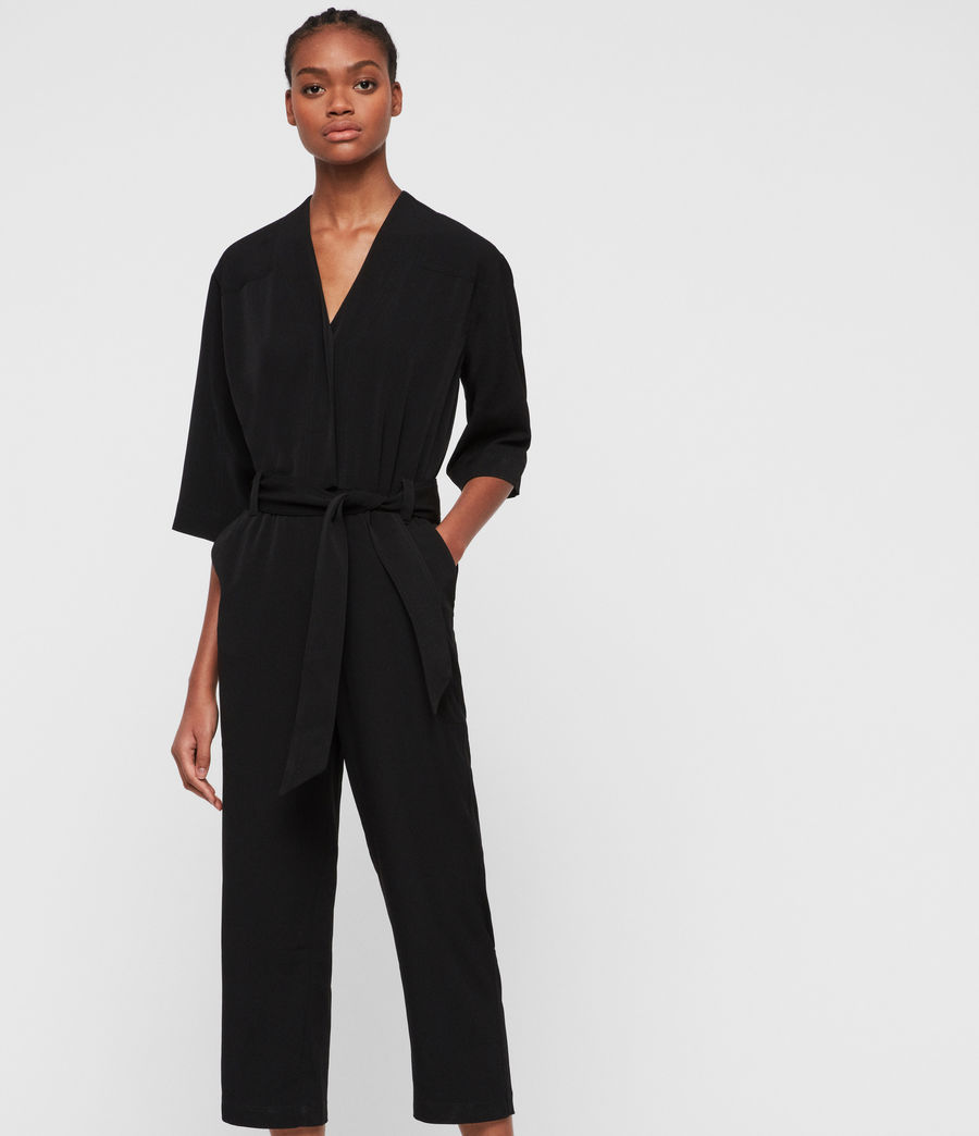 Women's Hayley Jumpsuit (black) - Image 4