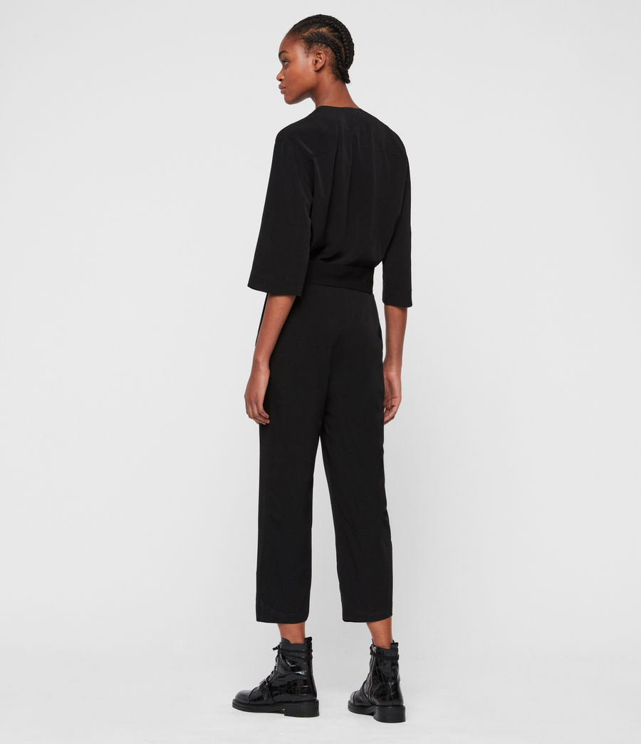 Women's Hayley Jumpsuit (black) - Image 5