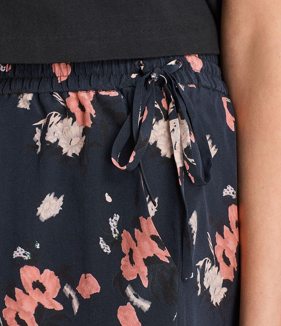 Damen Kaplan Kirsch Shorts aus Seide (ink_blue) - Image 2