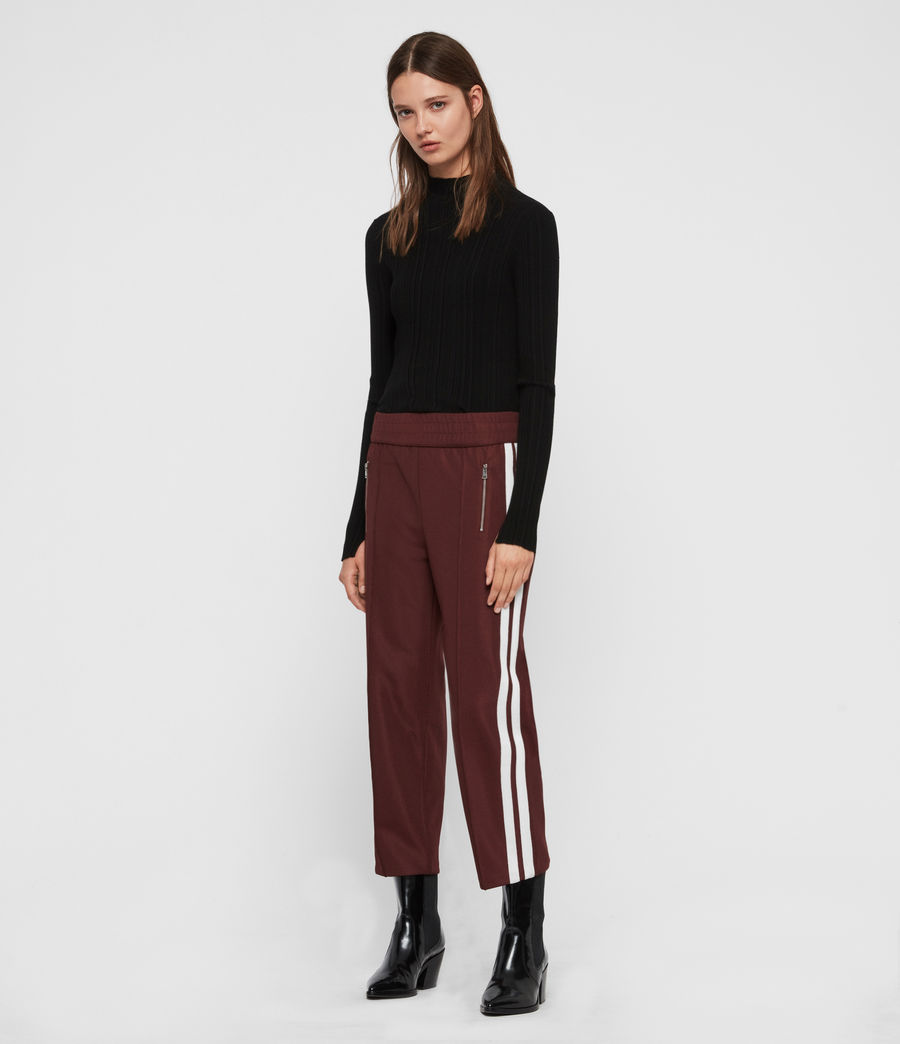 Women's Marty Trackpants (oxblood_red) - Image 1