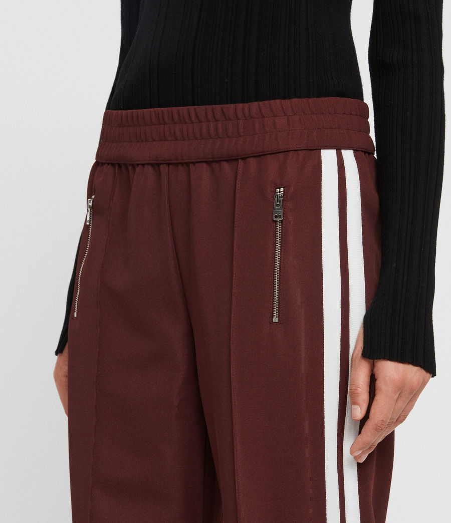 Women's Marty Trackpants (oxblood_red) - Image 2