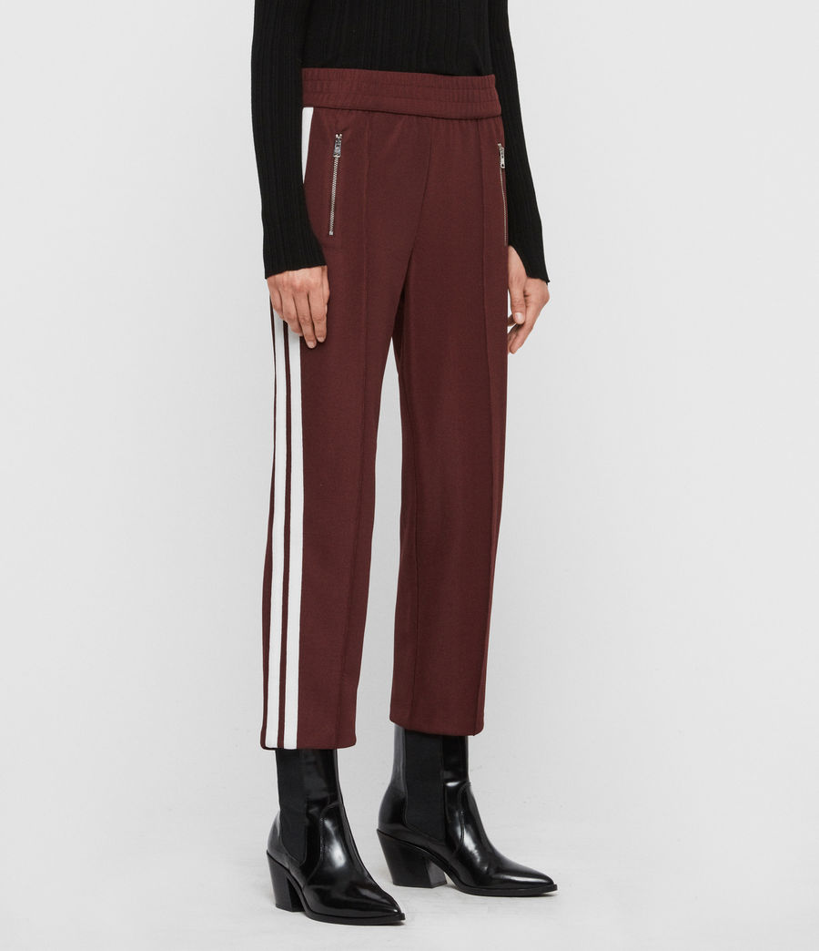 Women's Marty Trackpants (oxblood_red) - Image 4