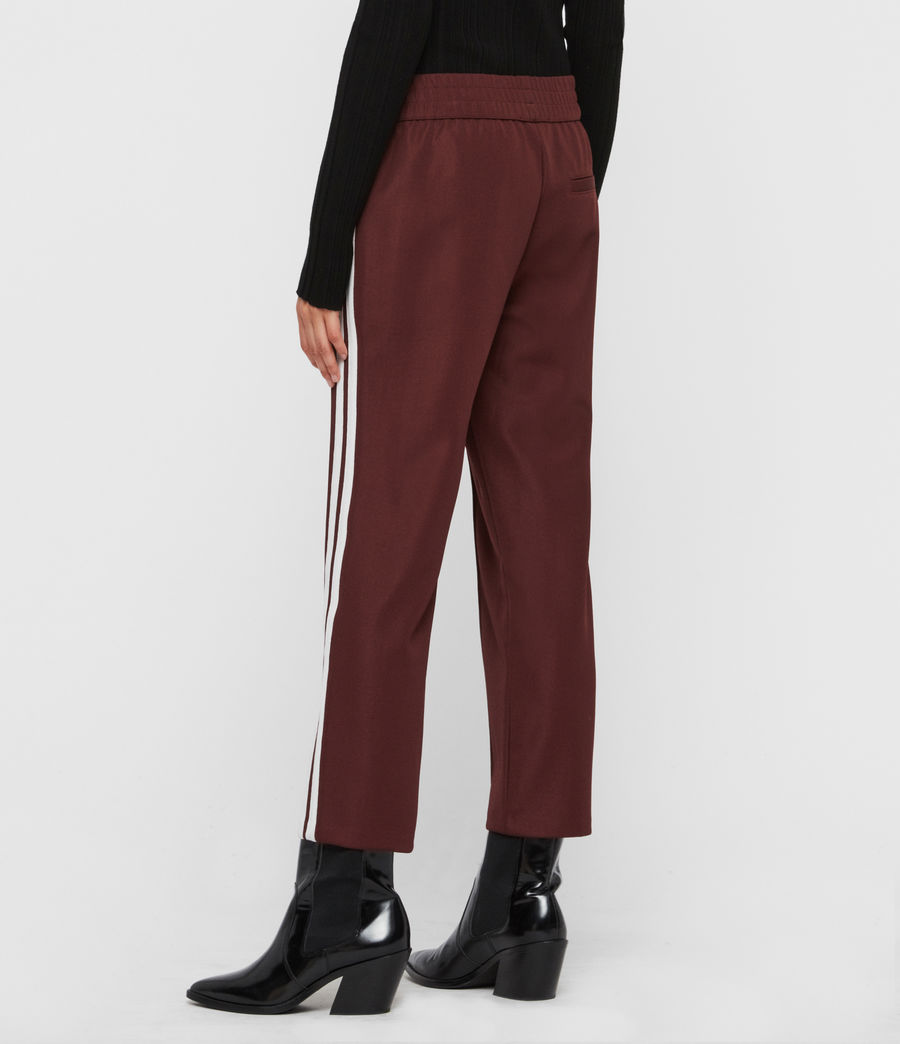 Women's Marty Trackpants (oxblood_red) - Image 5