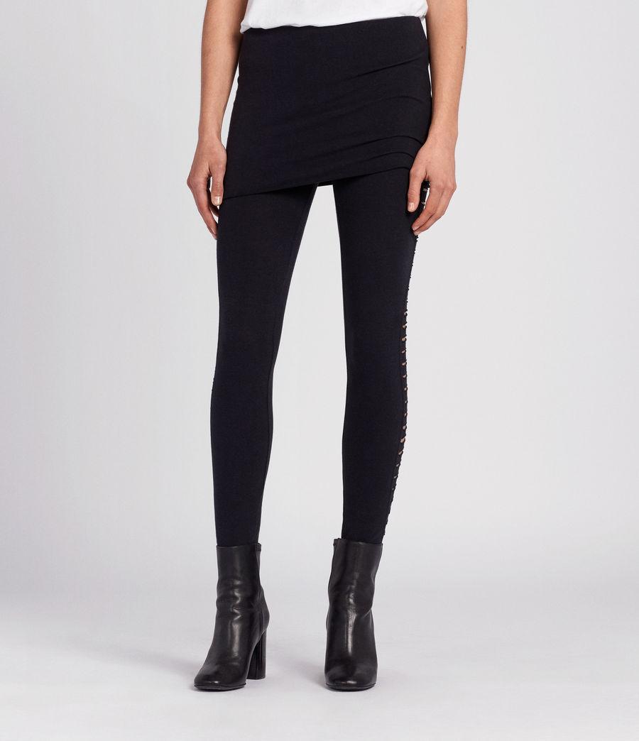 Donne Leggings Raffi Slash (black) - Image 3