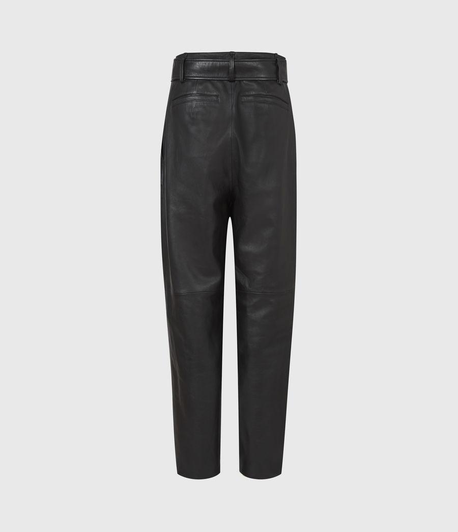 Femmes Pantalon en Cuir Lana (black) - Image 3