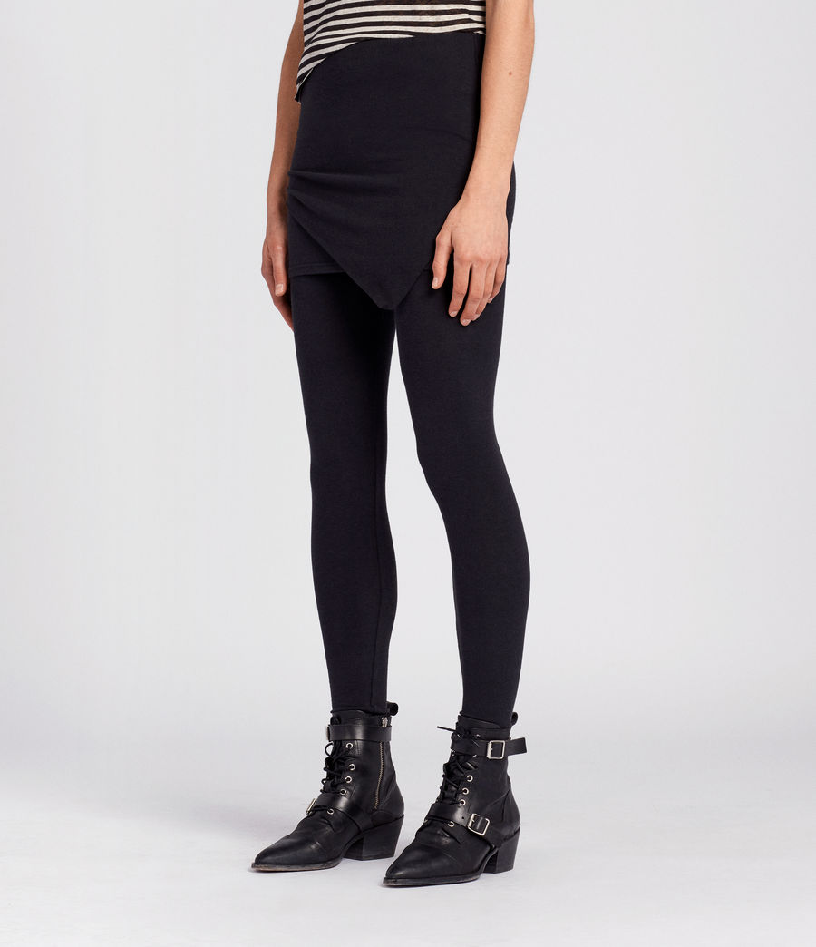 Damen Raffi Daisy Leggings (black) - Image 3