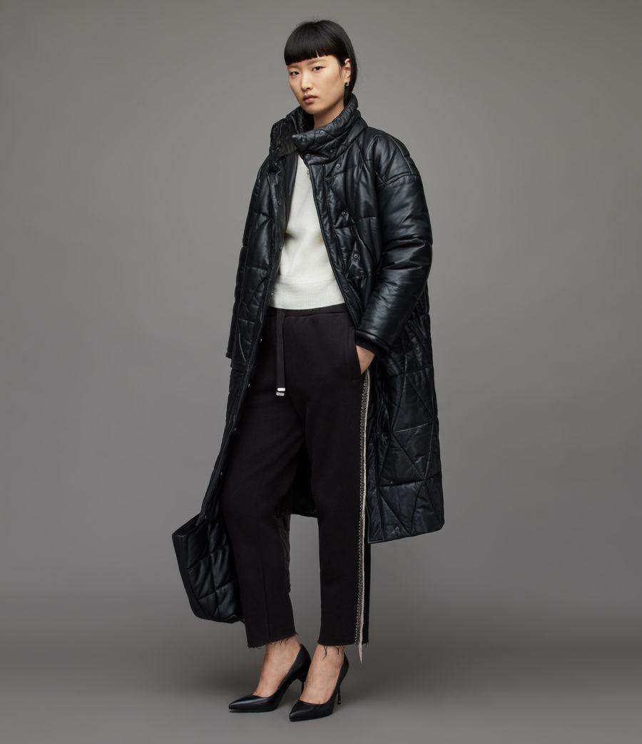 Damen Giselle Chain Sweatpants (black) - Image 1