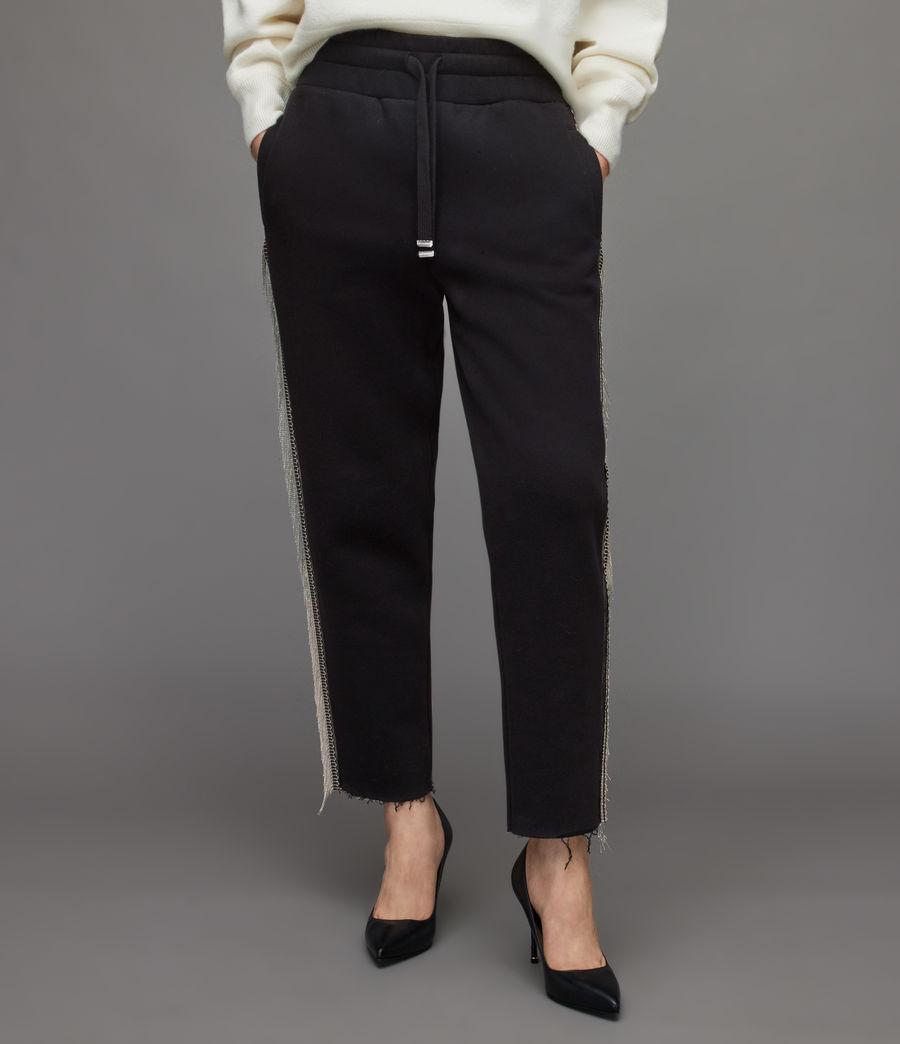 Damen Giselle Chain Sweatpants (black) - Image 2