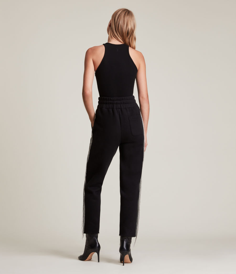 Damen Giselle Chain Sweatpants (black) - Image 5