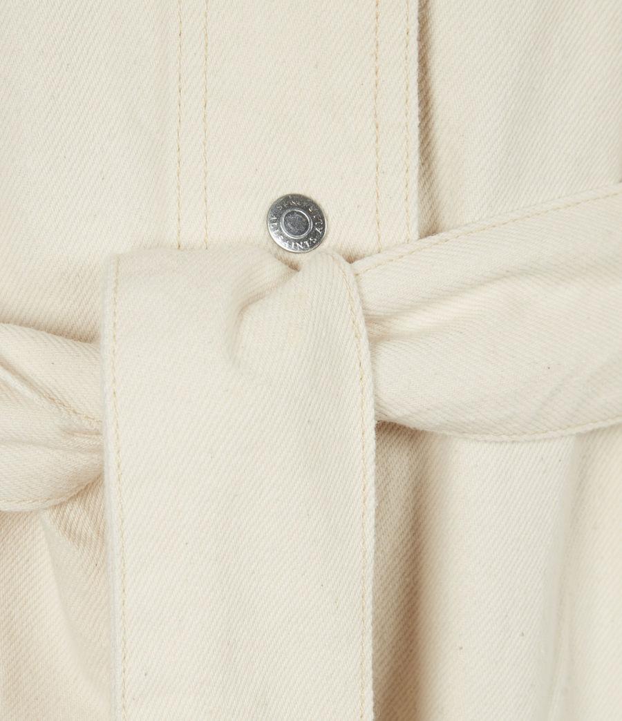 Womens Mira Utility Denim Jumpsuit (natural_white) - Image 6