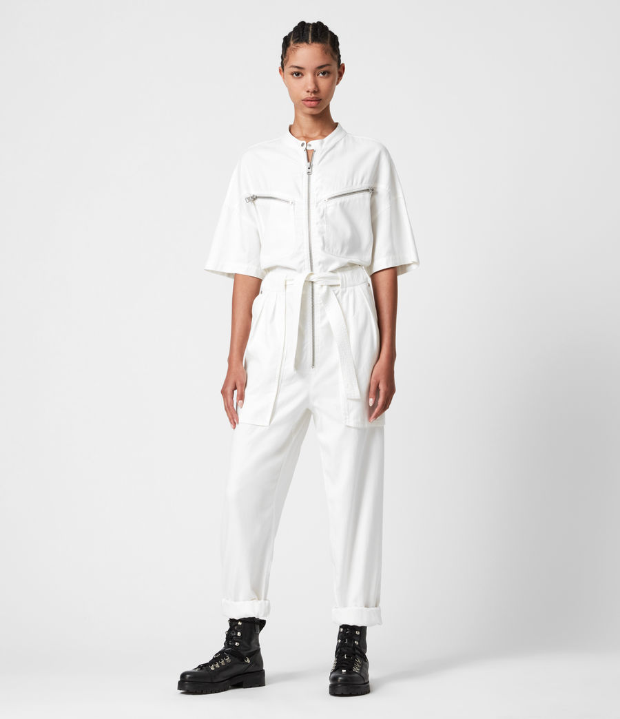 Women's Vola Jumpsuit (chalk_white) - Image 1