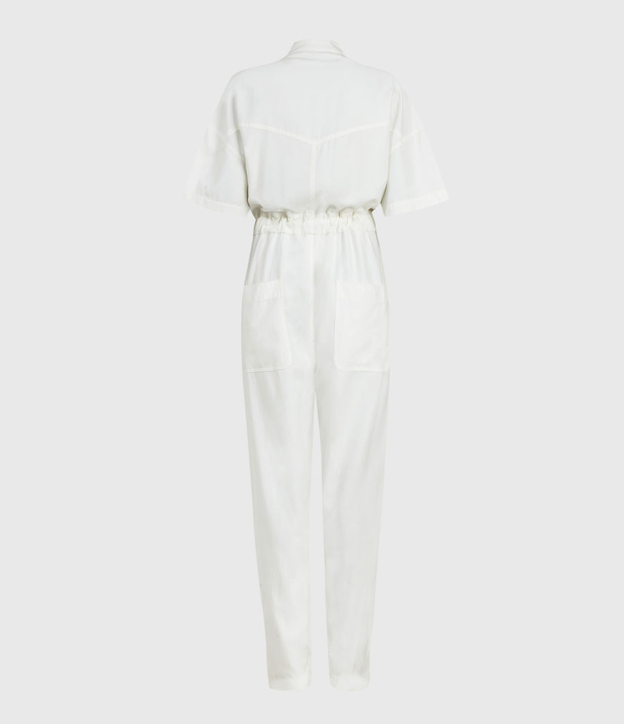 Women's Vola Jumpsuit (chalk_white) - Image 3