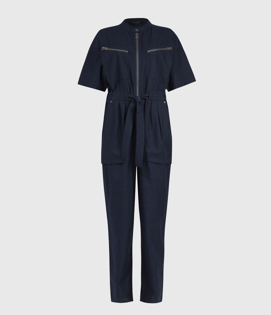 Women's Vola Jumpsuit (navy_blue) - Image 1
