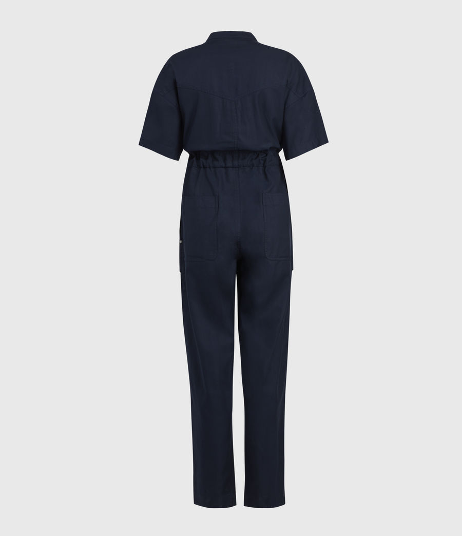 Women's Vola Jumpsuit (navy_blue) - Image 2