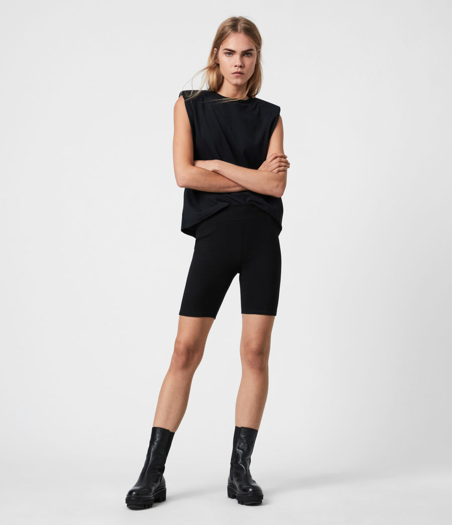 Women's Jamie Bike Shorts (black) - Image 1