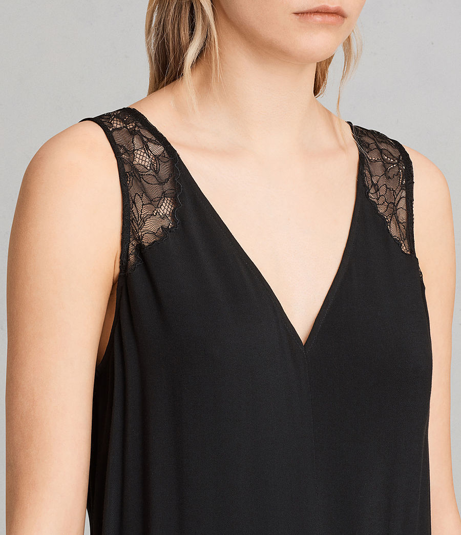 Damen Cate Jumpsuit (black) - Image 2