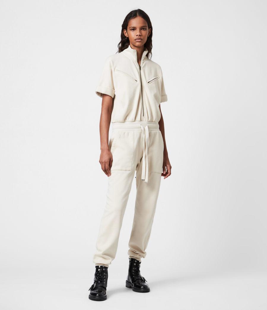 Womens Kayla Jumpsuit (linnet_white) - Image 1